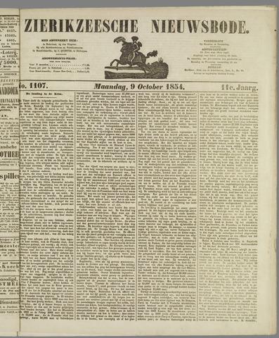 Zierikzeesche Nieuwsbode 1854-10-09
