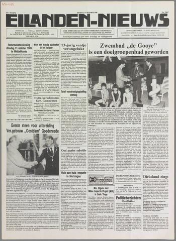 Eilanden-nieuws. Christelijk streekblad op gereformeerde grondslag 1989-10-31