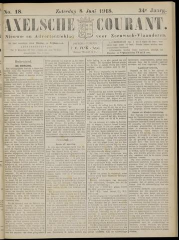 Axelsche Courant 1918-06-08