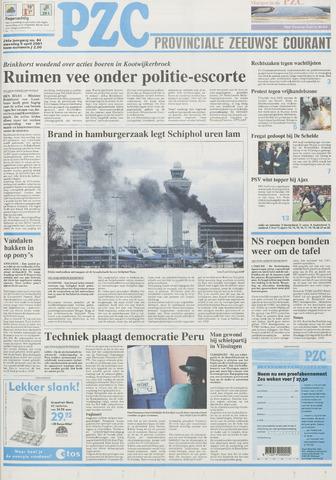 Provinciale Zeeuwse Courant 2001-04-09