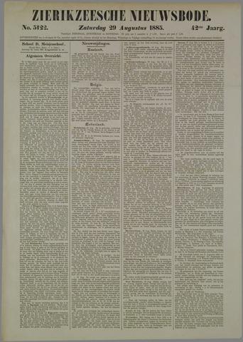 Zierikzeesche Nieuwsbode 1885-08-29