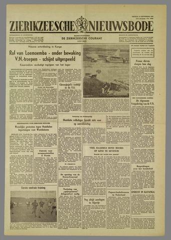 Zierikzeesche Nieuwsbode 1960-09-16