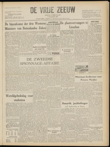 de Vrije Zeeuw 1952-02-19