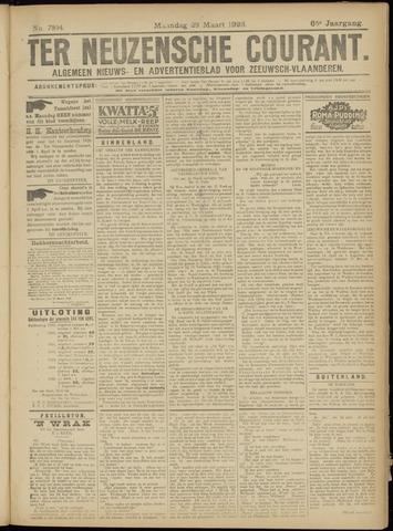 Ter Neuzensche Courant. Algemeen Nieuws- en Advertentieblad voor Zeeuwsch-Vlaanderen / Neuzensche Courant ... (idem) / (Algemeen) nieuws en advertentieblad voor Zeeuwsch-Vlaanderen 1926-03-29