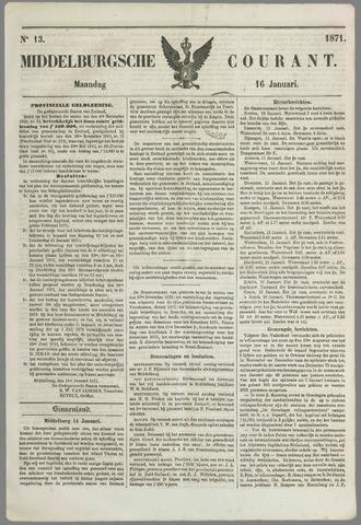 Middelburgsche Courant 1871-01-16