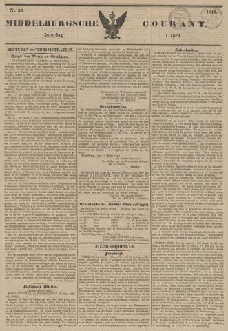 Middelburgsche Courant 1843-04-01