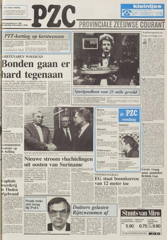 Provinciale Zeeuwse Courant 1986-12-04