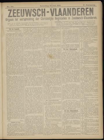 Luctor et Emergo. Antirevolutionair nieuws- en advertentieblad voor Zeeland / Zeeuwsch-Vlaanderen. Orgaan ter verspreiding van de christelijke beginselen in Zeeuwsch-Vlaanderen 1919-07-19
