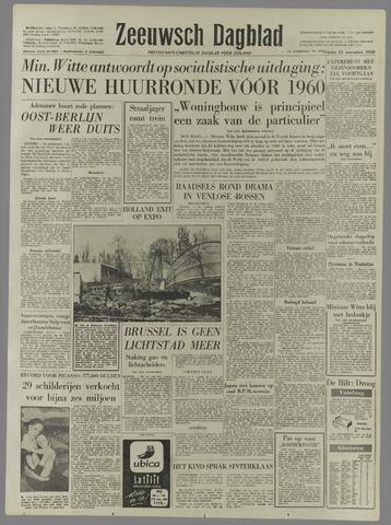Zeeuwsch Dagblad 1958-11-21
