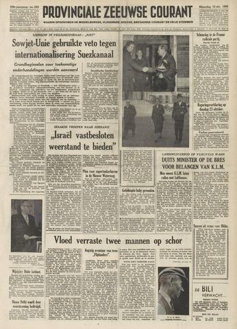 Provinciale Zeeuwse Courant 1956-10-15