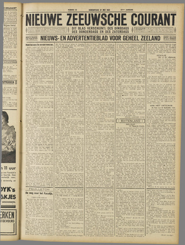 Nieuwe Zeeuwsche Courant 1931-05-21