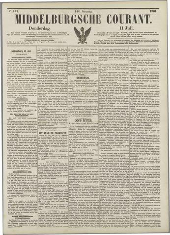 Middelburgsche Courant 1901-07-11