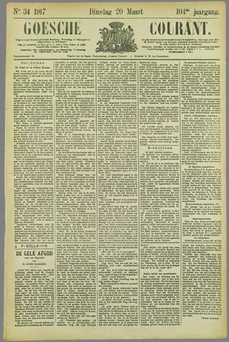 Goessche Courant 1917-03-20