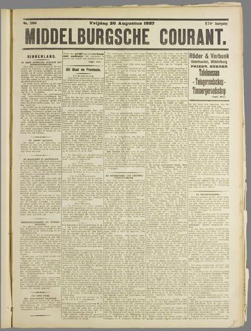 Middelburgsche Courant 1927-08-26