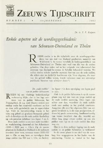 Zeeuws Tijdschrift 1961-03-01