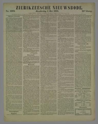 Zierikzeesche Nieuwsbode 1882-05-04