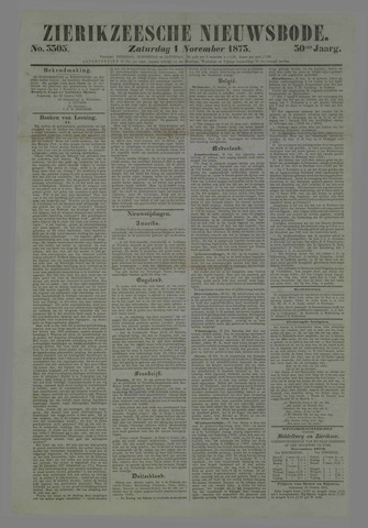 Zierikzeesche Nieuwsbode 1873-11-01
