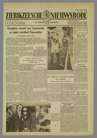 Zierikzeesche Nieuwsbode 1960-09-09