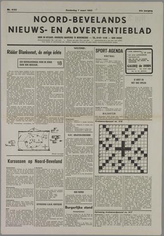 Noord-Bevelands Nieuws- en advertentieblad 1985-03-07