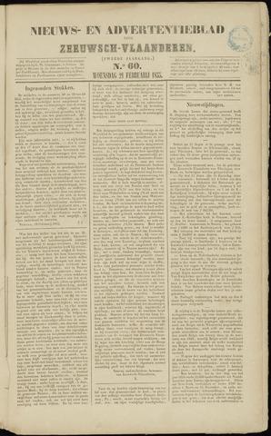Ter Neuzensche Courant. Algemeen Nieuws- en Advertentieblad voor Zeeuwsch-Vlaanderen / Neuzensche Courant ... (idem) / (Algemeen) nieuws en advertentieblad voor Zeeuwsch-Vlaanderen 1855-02-21