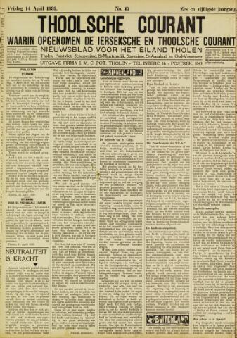 Ierseksche en Thoolsche Courant 1939-04-14