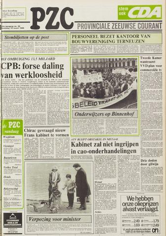 Provinciale Zeeuwse Courant 1986-03-19