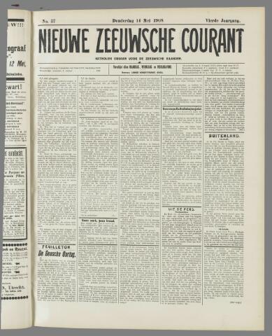Nieuwe Zeeuwsche Courant 1908-05-14