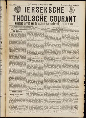 Ierseksche en Thoolsche Courant 1914-09-12