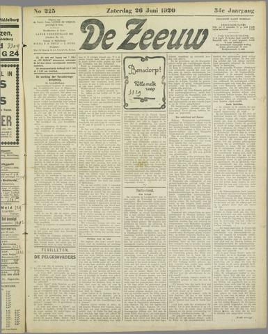 De Zeeuw. Christelijk-historisch nieuwsblad voor Zeeland 1920-06-26