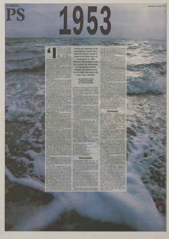 Watersnood documentatie 1953 - kranten 1993-01-23