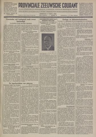 Provinciale Zeeuwse Courant 1941-10-07