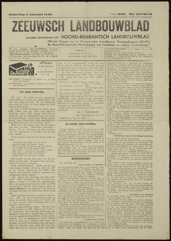 Zeeuwsch landbouwblad ... ZLM land- en tuinbouwblad 1940