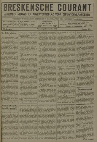 Breskensche Courant 1922-11-15