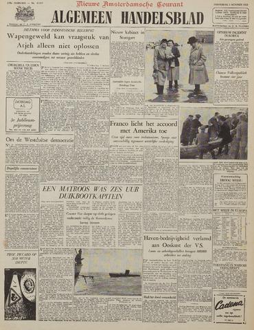 Watersnood documentatie 1953 - kranten 1953-10-01