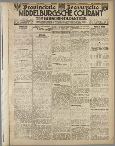 Middelburgsche Courant 1933-08-07