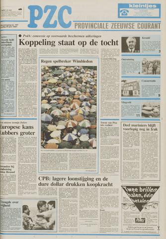Provinciale Zeeuwse Courant 1991-06-25