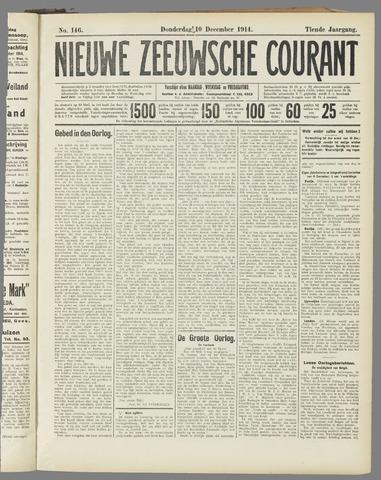 Nieuwe Zeeuwsche Courant 1914-12-10