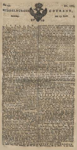 Middelburgsche Courant 1775-04-15