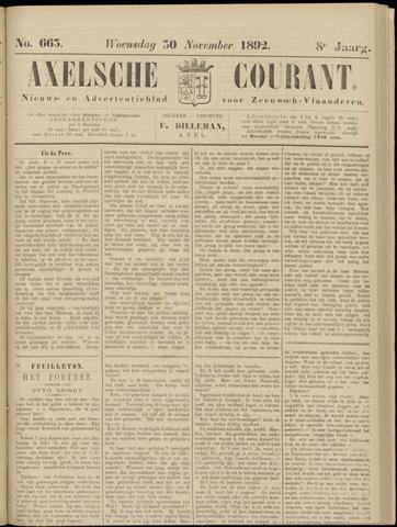 Axelsche Courant 1892-11-30