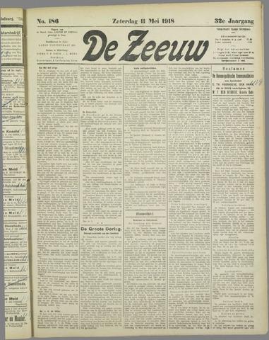 De Zeeuw. Christelijk-historisch nieuwsblad voor Zeeland 1918-05-11