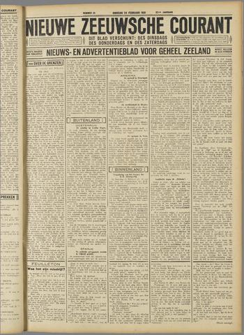 Nieuwe Zeeuwsche Courant 1931-02-24