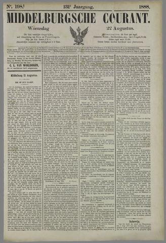 Middelburgsche Courant 1888-08-22