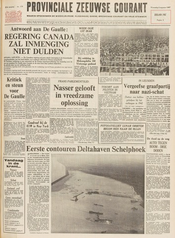 Provinciale Zeeuwse Courant 1967-08-02
