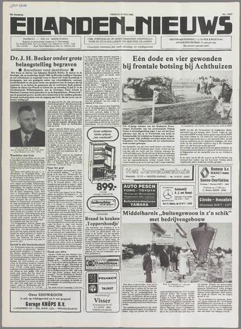 Eilanden-nieuws. Christelijk streekblad op gereformeerde grondslag 1985-07-26