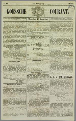 Goessche Courant 1859-08-29