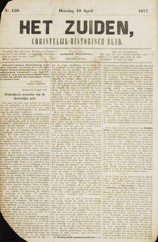 Het Zuiden, Christelijk-historisch blad 1877-04-10