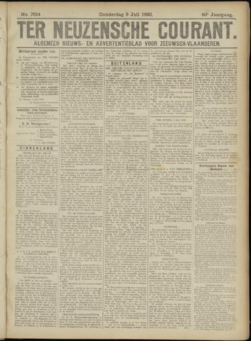 Ter Neuzensche Courant. Algemeen Nieuws- en Advertentieblad voor Zeeuwsch-Vlaanderen / Neuzensche Courant ... (idem) / (Algemeen) nieuws en advertentieblad voor Zeeuwsch-Vlaanderen 1920-07-08