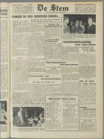 de Stem 1947-09-11