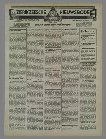Zierikzeesche Nieuwsbode 1941-02-22