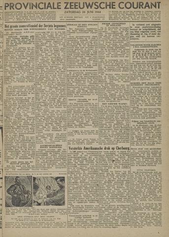 Provinciale Zeeuwse Courant 1944-06-24